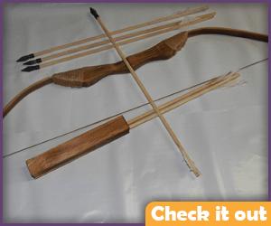 Wooden Bow Set.