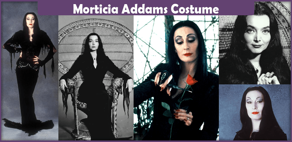 Morticia Addams Costume - A DIY Guide