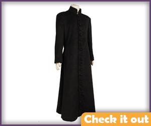 Neo Costume Wool Trenchcoat.