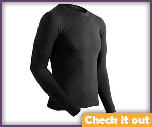 Black Long Sleeve Shirt.