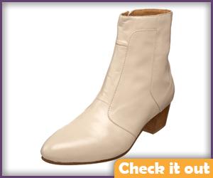 Cream Boots.