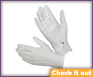 White Gloves.