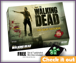 The Walking Dead Board Game.