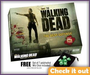 The Walking Dead Board Game.