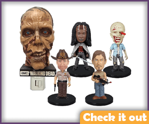 The Walking Dead Bobble Head Set.