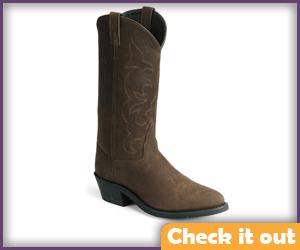 Brown Cowboy Boots.