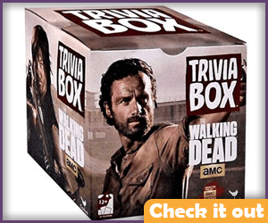 The Walking Dead Trivia Game.