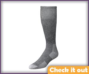 Grey Boot Socks.