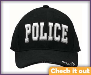 Police Baseball Cap.