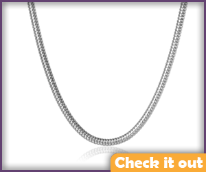 Silver Necklace Chain.