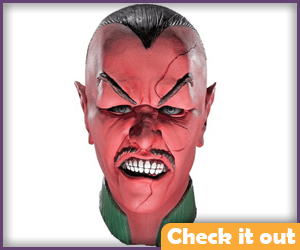 Sinestro Costume Angry Mask.