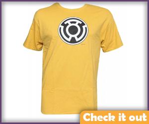 Sinestro Logo Tee.