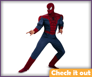 Spider-man Muscle Costume.