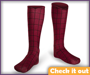 Spiderman Boot Covers.