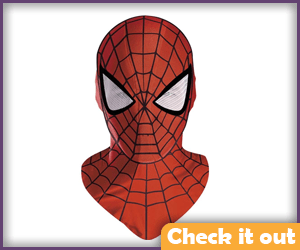 Bright Red Spider-Man Mask.