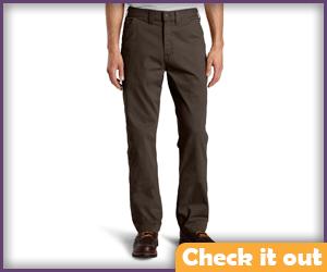 Dark Brown Pants.