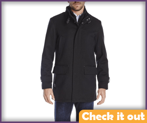 The Governor Long Zip-Up Coat.