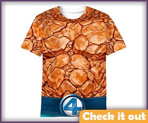 The Thing Costume Shirt.