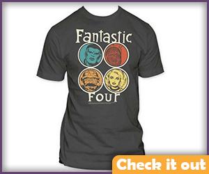 Fantastic Four Classic Tee.
