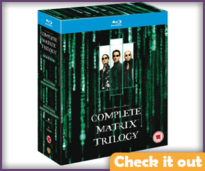 The Matrix Blu-Ray Trilogy.