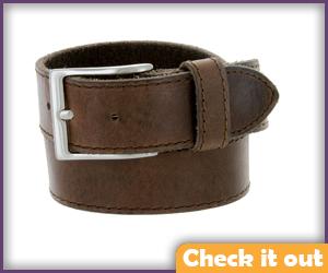 Brown Worn Belt.