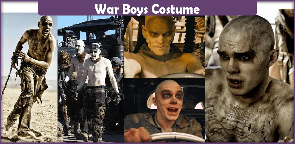 War Boys Costume