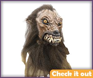 Wolfman Humanoid Mask.
