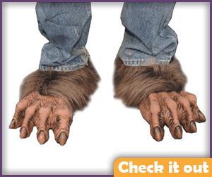 Wolfman Feet.