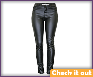 Leather Tight Pants.