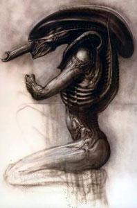 Xenomorph Sketch.