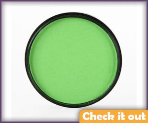 Light Green Face Paint.