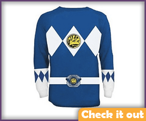 Blue Ranger Long Sleeve Shirt.