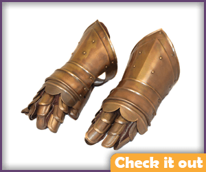 Bronze Armor Gloves.