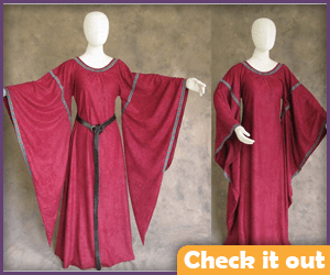 Cersei Lannister Long Red Dress.