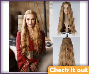 Cersei Lannister Costume Wig.