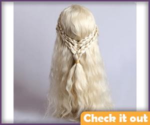 Blonde Wig Option.