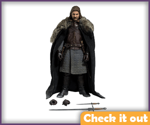 Eddard Stark Deluxe Figure.