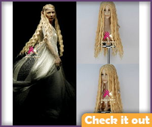 Galadriel Costume Wig.