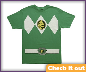 Green Power Ranger Tee.
