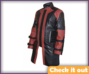 Hawkeye Red Leather Jacket.