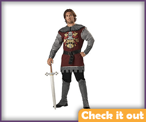 Jaime Lannister Costume Knight Set.