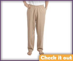 Tan Pants.
