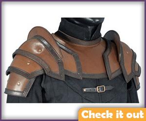 Leather Shoulder Armor.