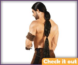 Khal Drogo Costume Wig.