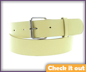 Light Yellow Belt.