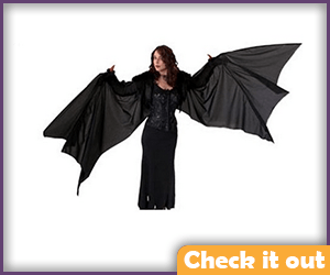 Man-Bat Costume Wings.