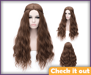 Margaery Tyrell Costume Dark Wig.
