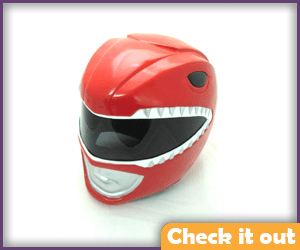 Red Ranger Replica Helmet.