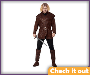 Robb Stark Costume Medieval Lord.