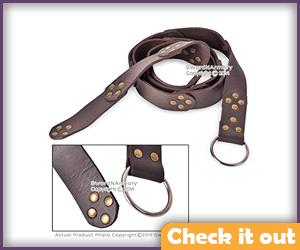 Brown Medieval Belt.